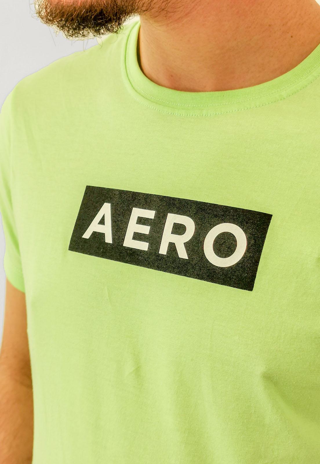 Camiseta Aéropostale Verde Menta Logo