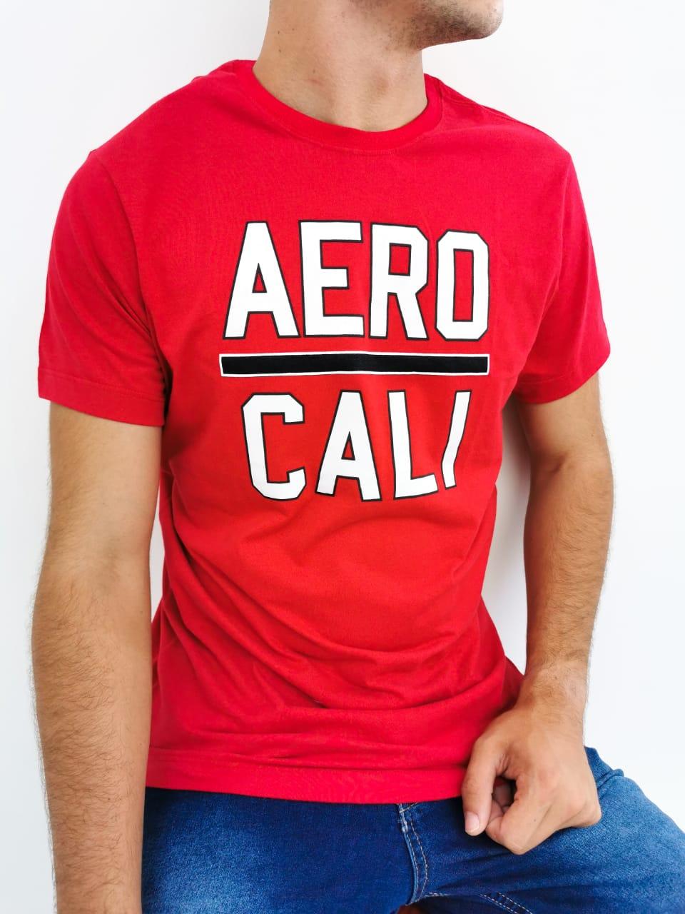 Camiseta Aéropostale Vermelho