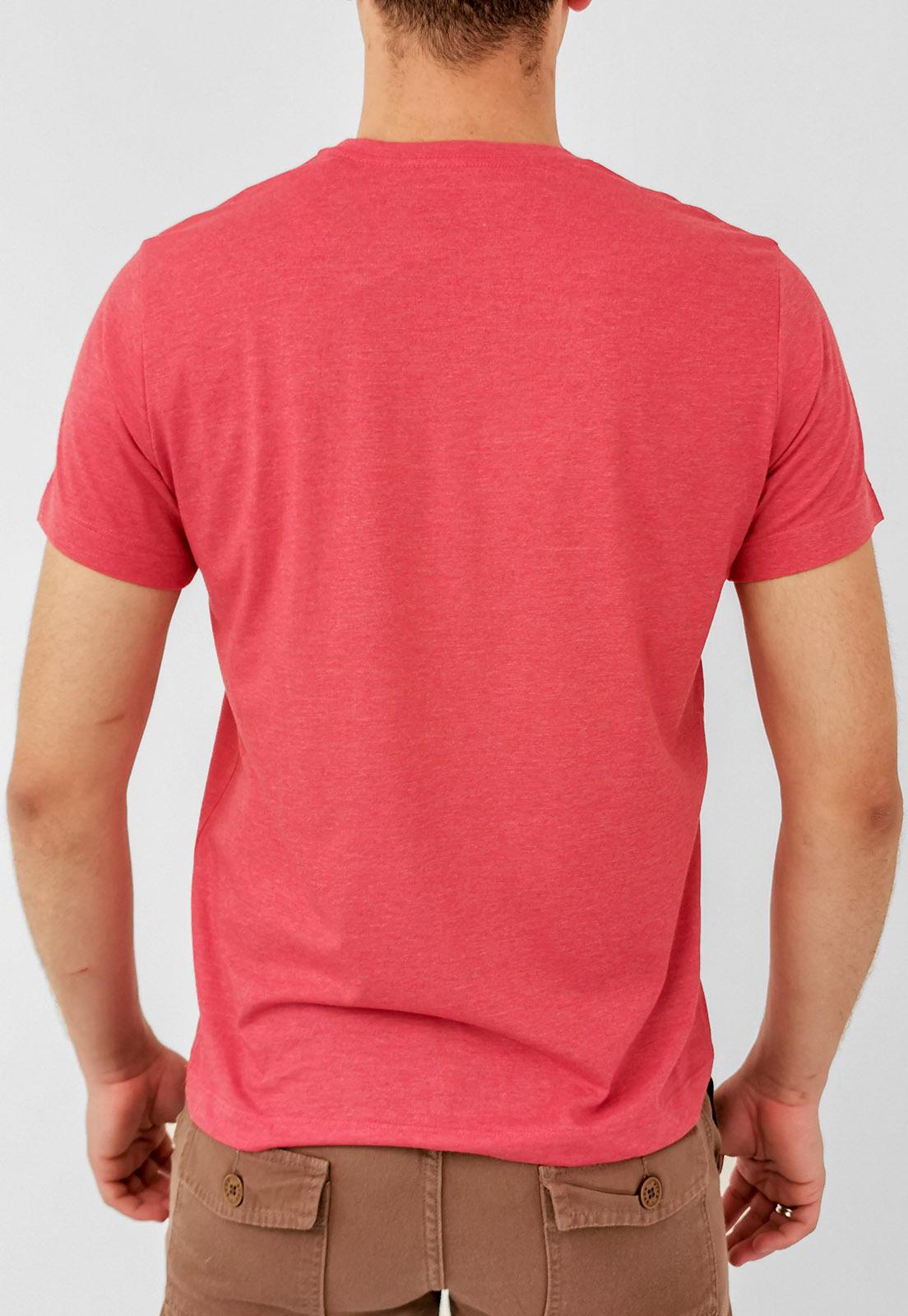Camiseta Aéropostale Vermelho Básica Logo