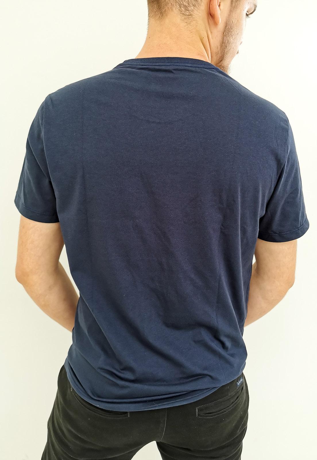Camiseta Arandom Azul Marinho Noite Básica