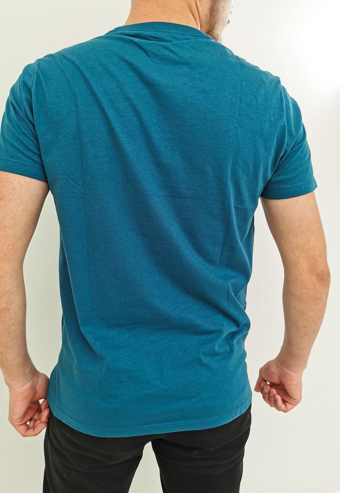 Camiseta Arandom Azul Petróleo Básica