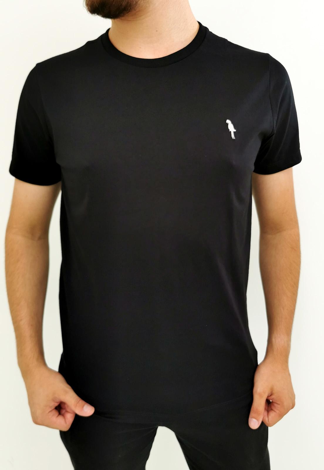 Camiseta Arandom Preta Básica