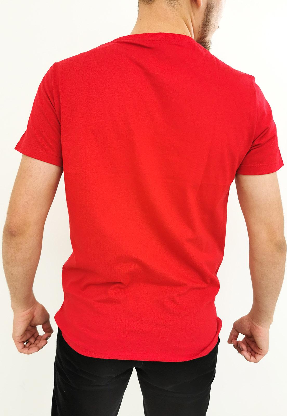 Camiseta Arandom Vermelho Básica