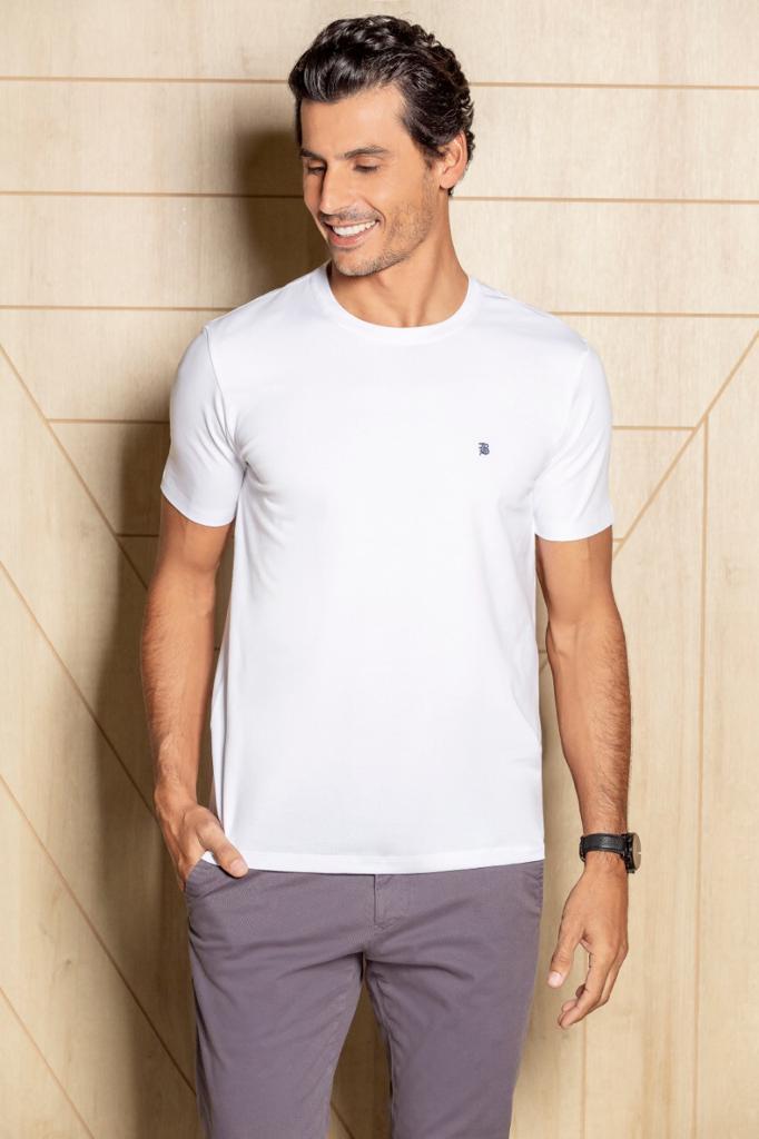 Camiseta baumgarten Basásica Branca