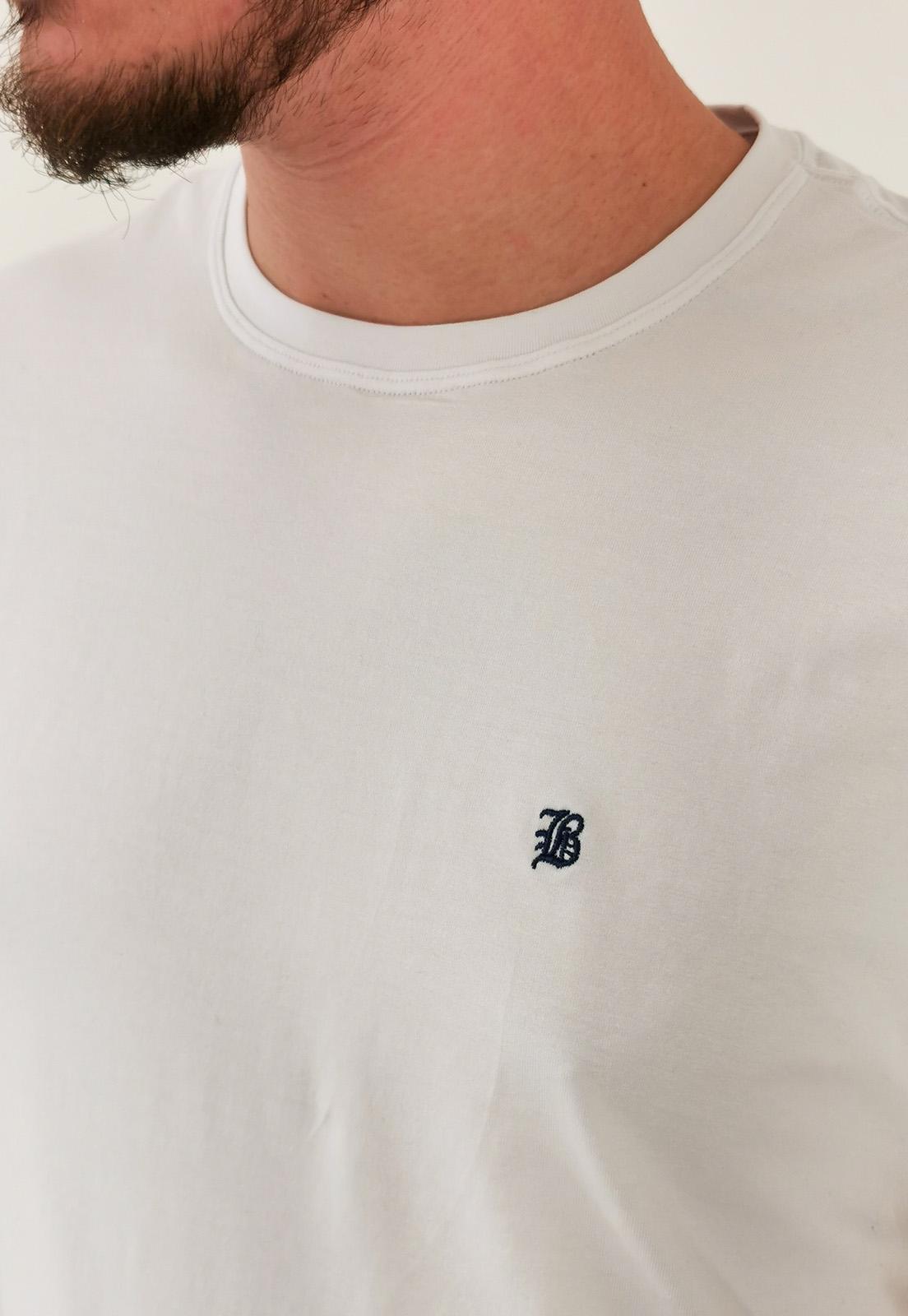 Camiseta baumgarten Básica Branca