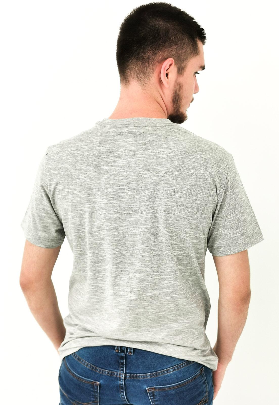 Camiseta Calvin Klein Cinza Mescla Logo