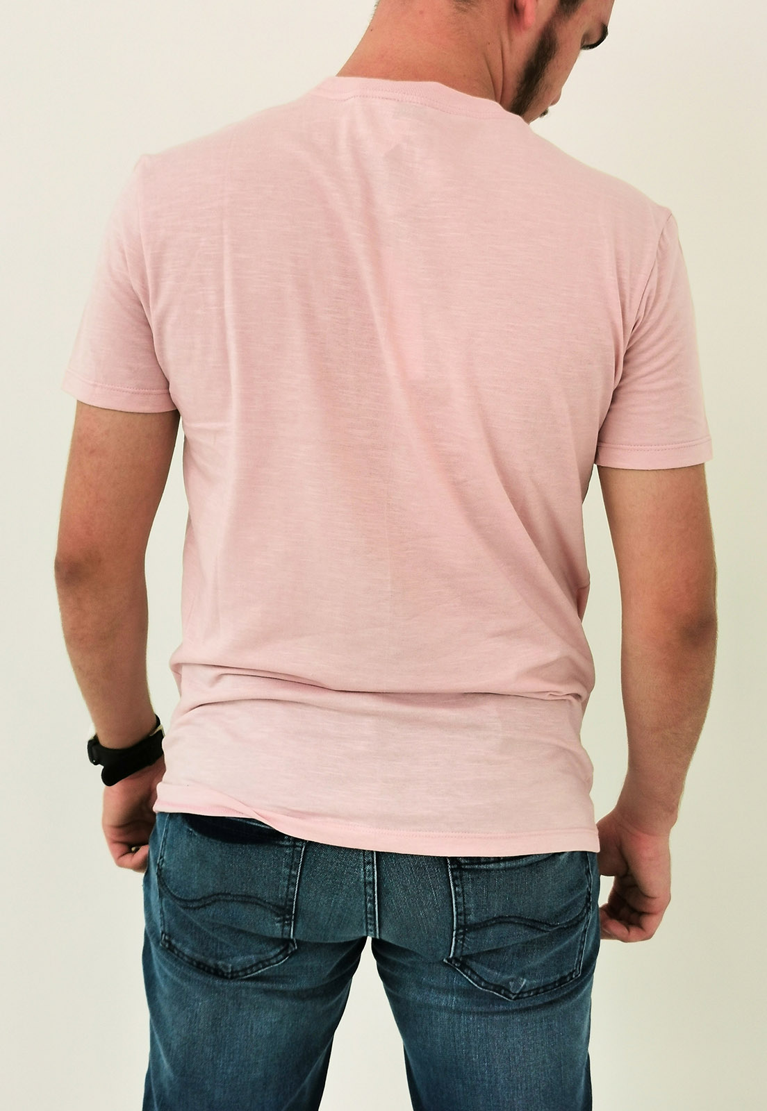 Camiseta Calvin Klein Rosa Logo