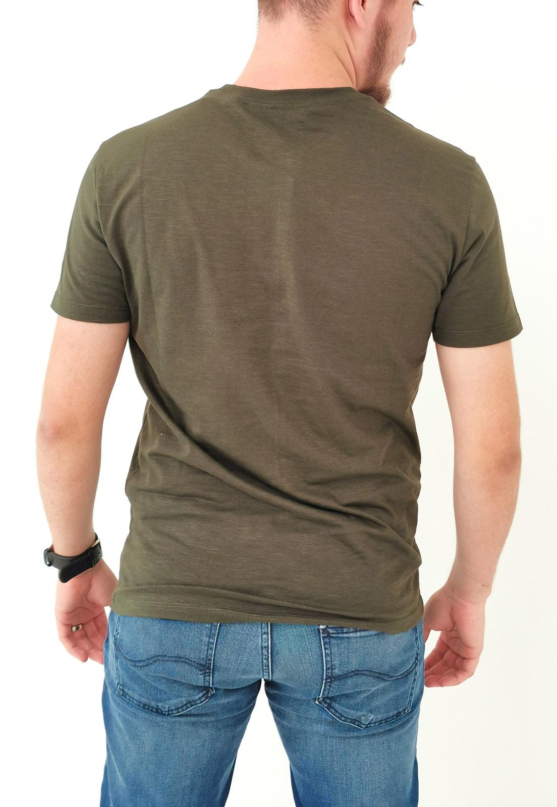 Camiseta Calvin Klein Verde Militar Logo