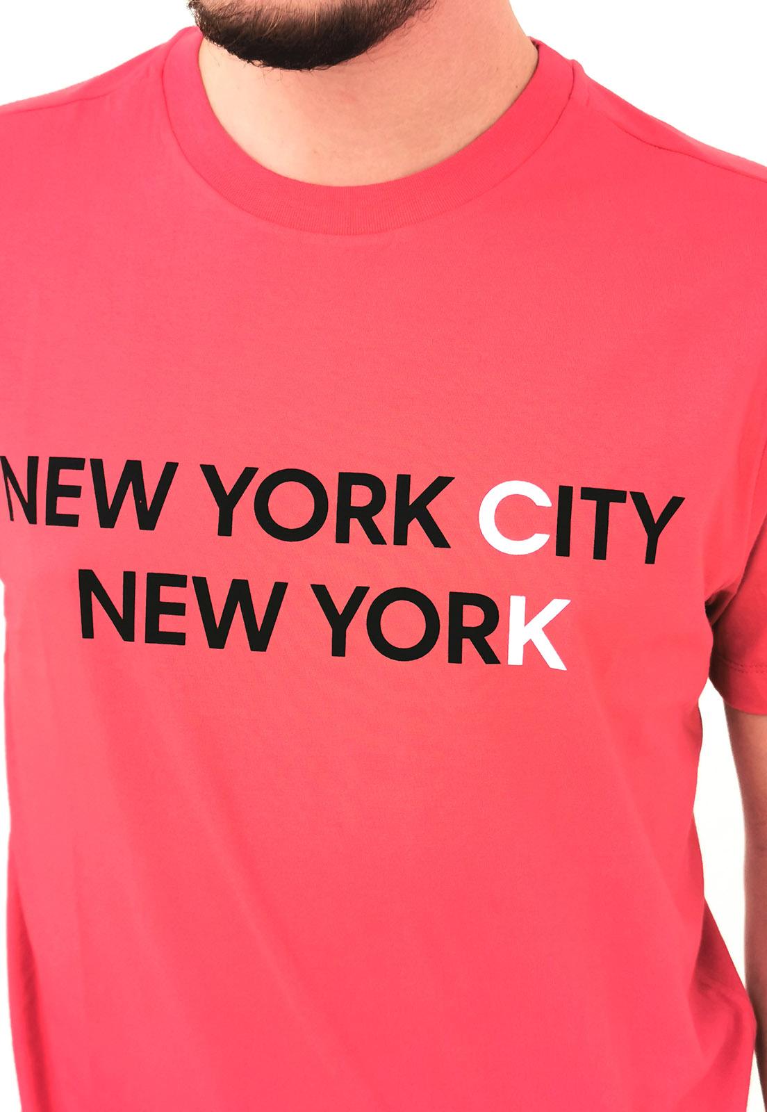 Camiseta Calvin Klein Vermelho New York