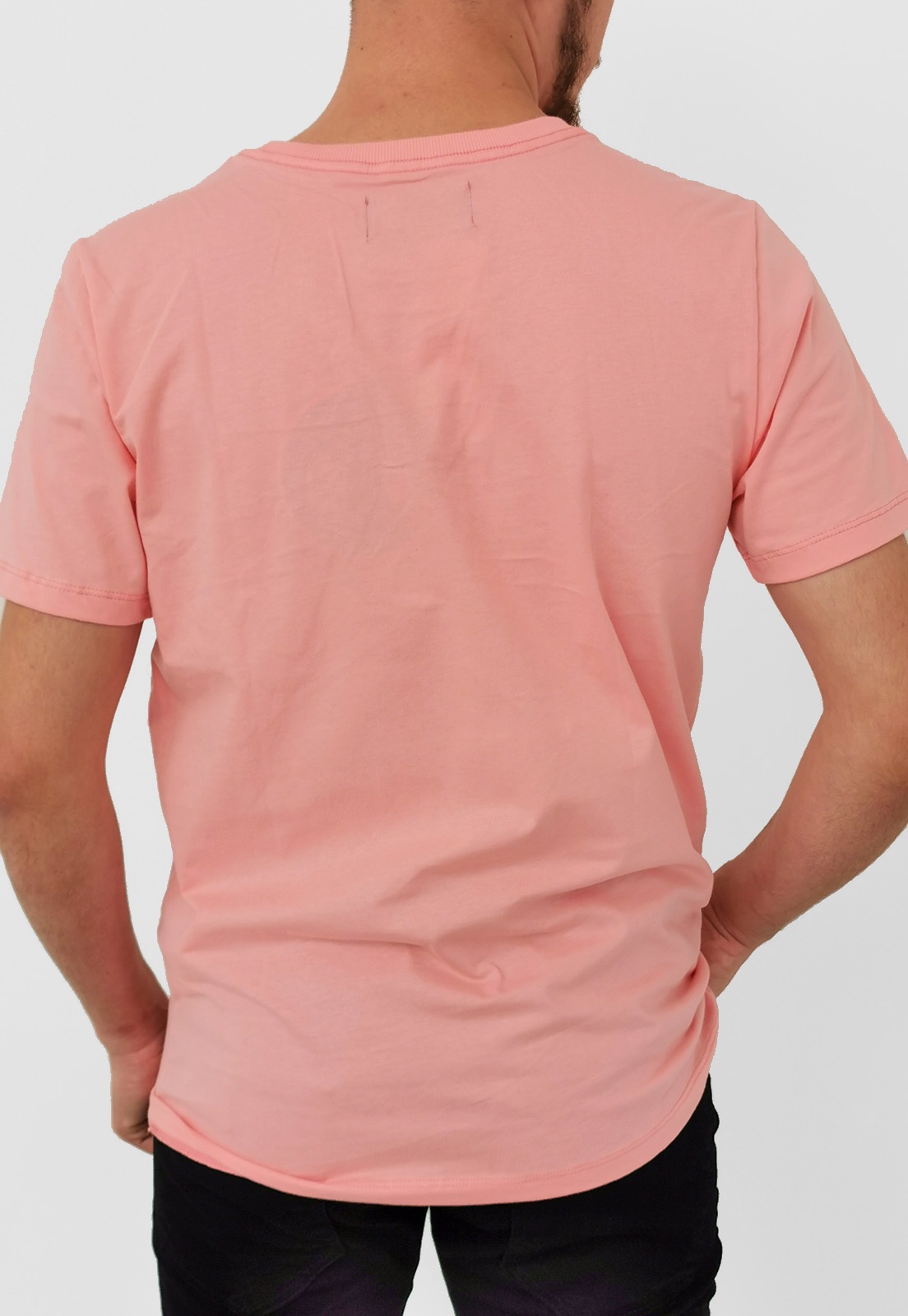 Camiseta Coca-Cola Básica Rosa