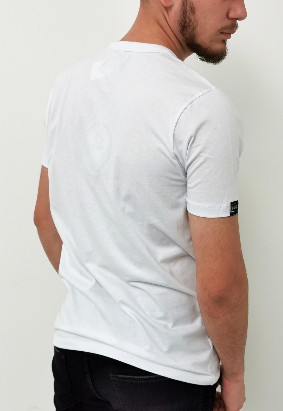 Camiseta Coca-Cola Branco Connecting