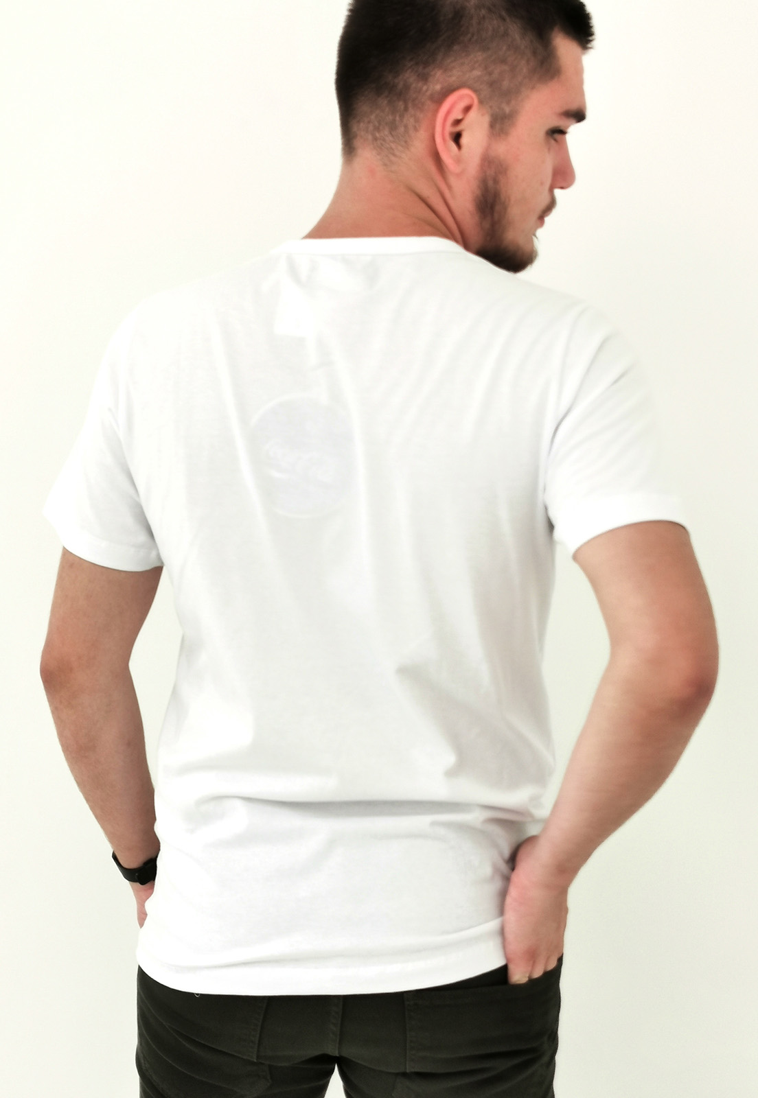 Camiseta Coca-Cola Branco Logo