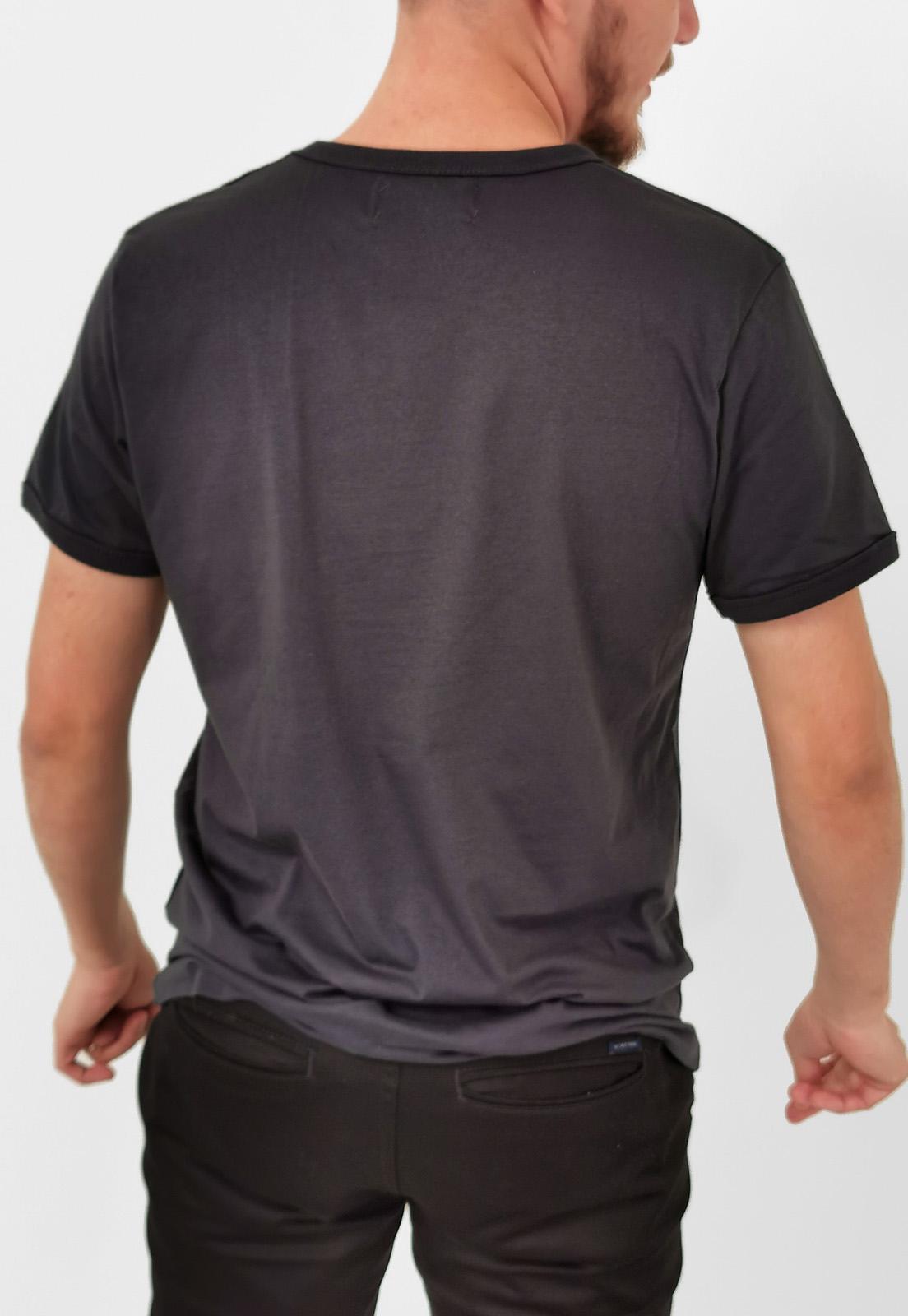 Camiseta Coca-Cola Cinza Noir