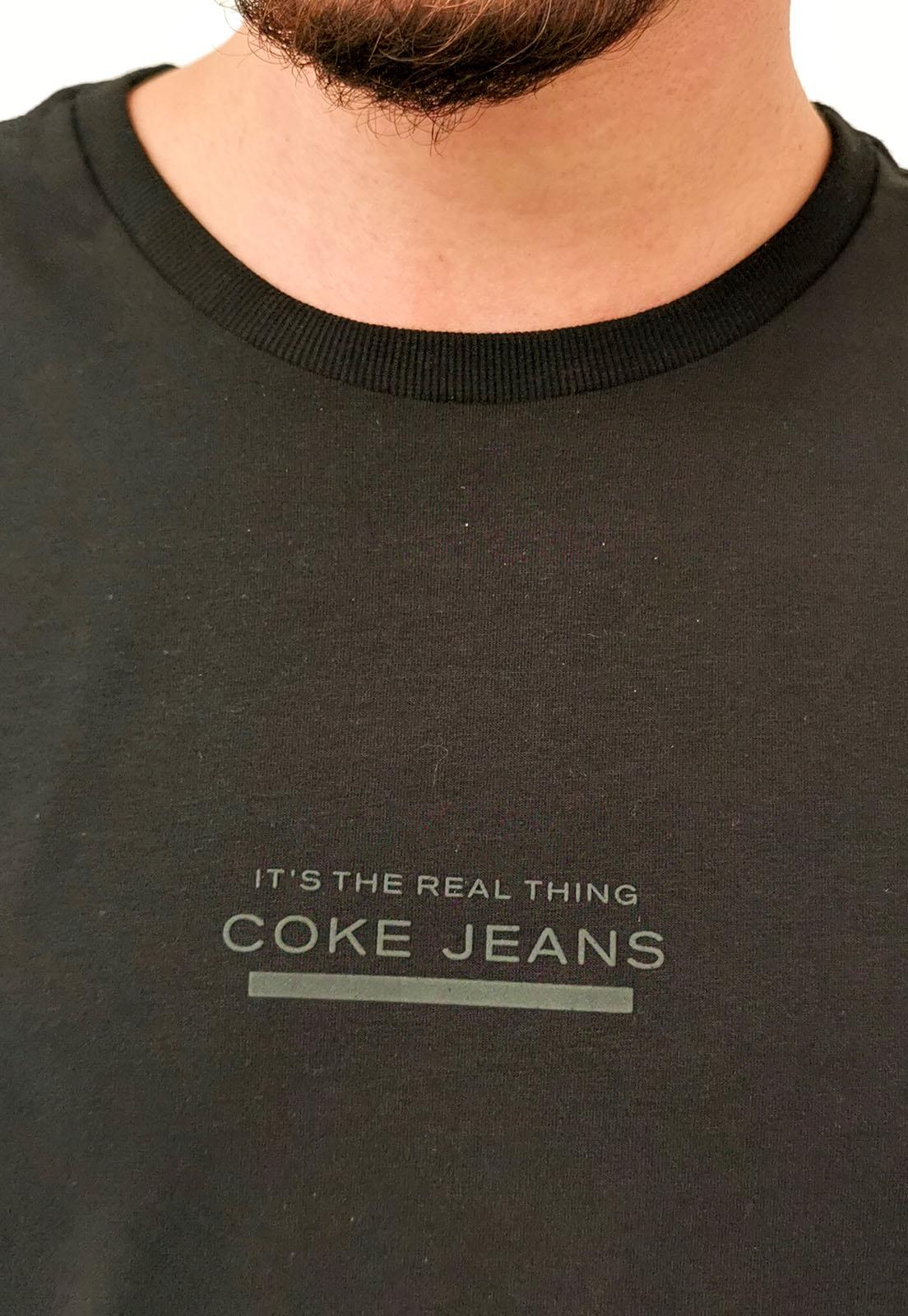 Camiseta Coca-Cola Preto