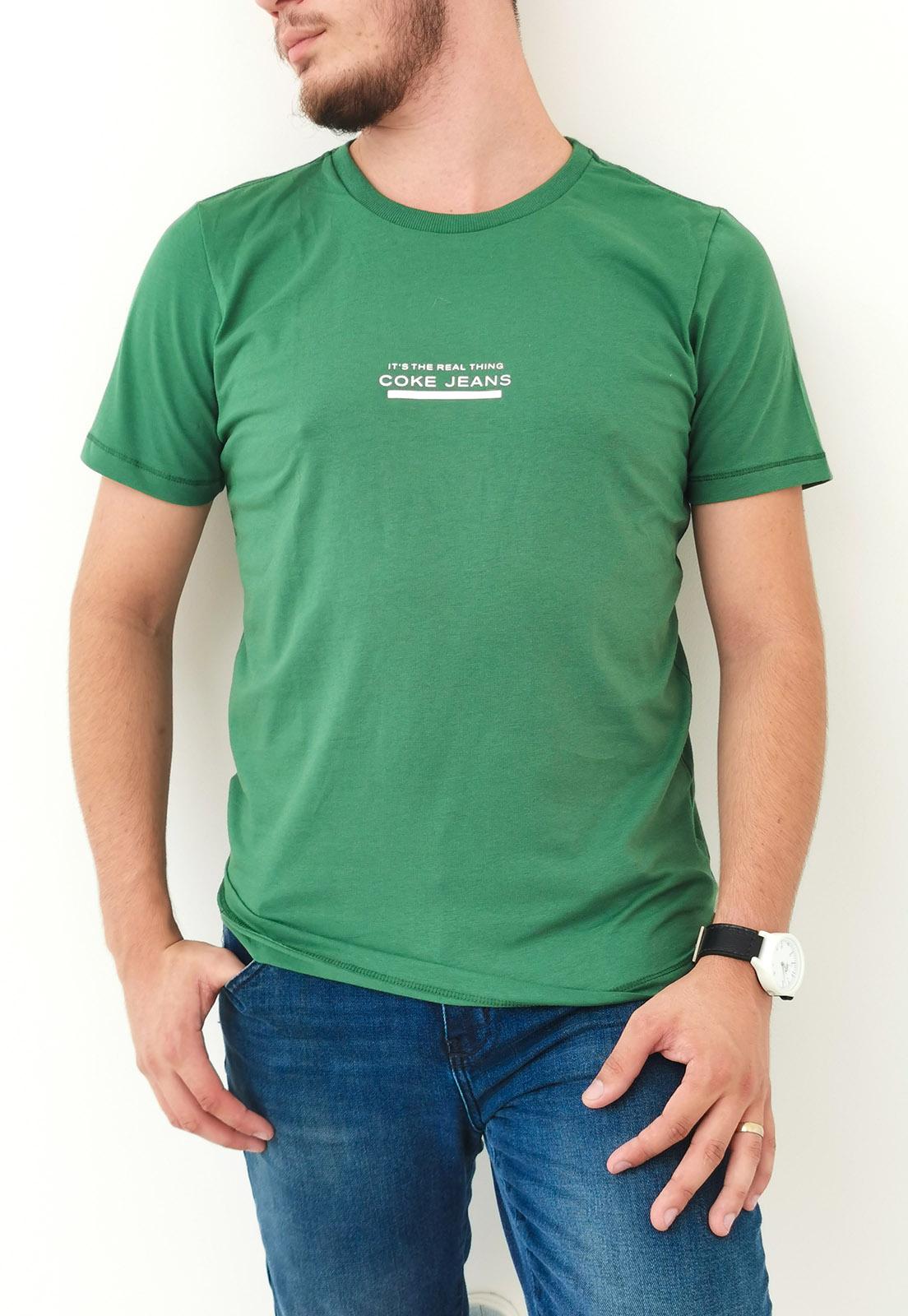 Camiseta Coca-Cola Verde Real Thing