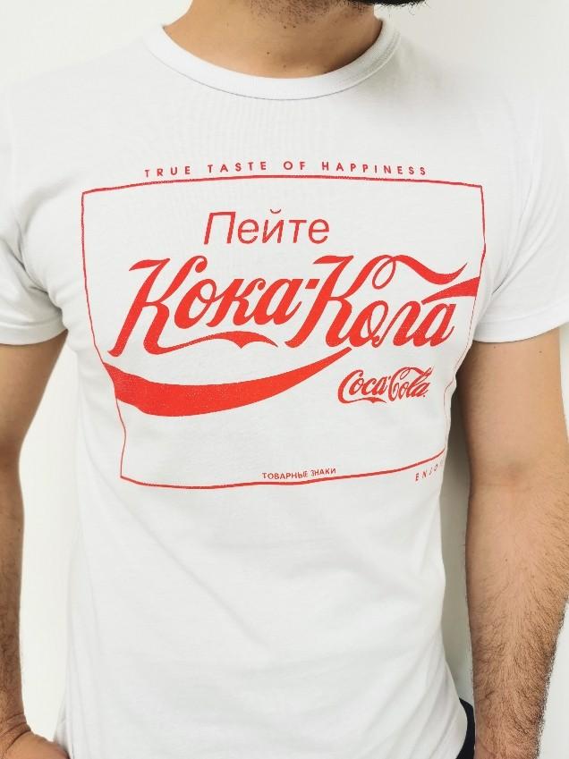 Camiseta Cola-Cola Branca Koka
