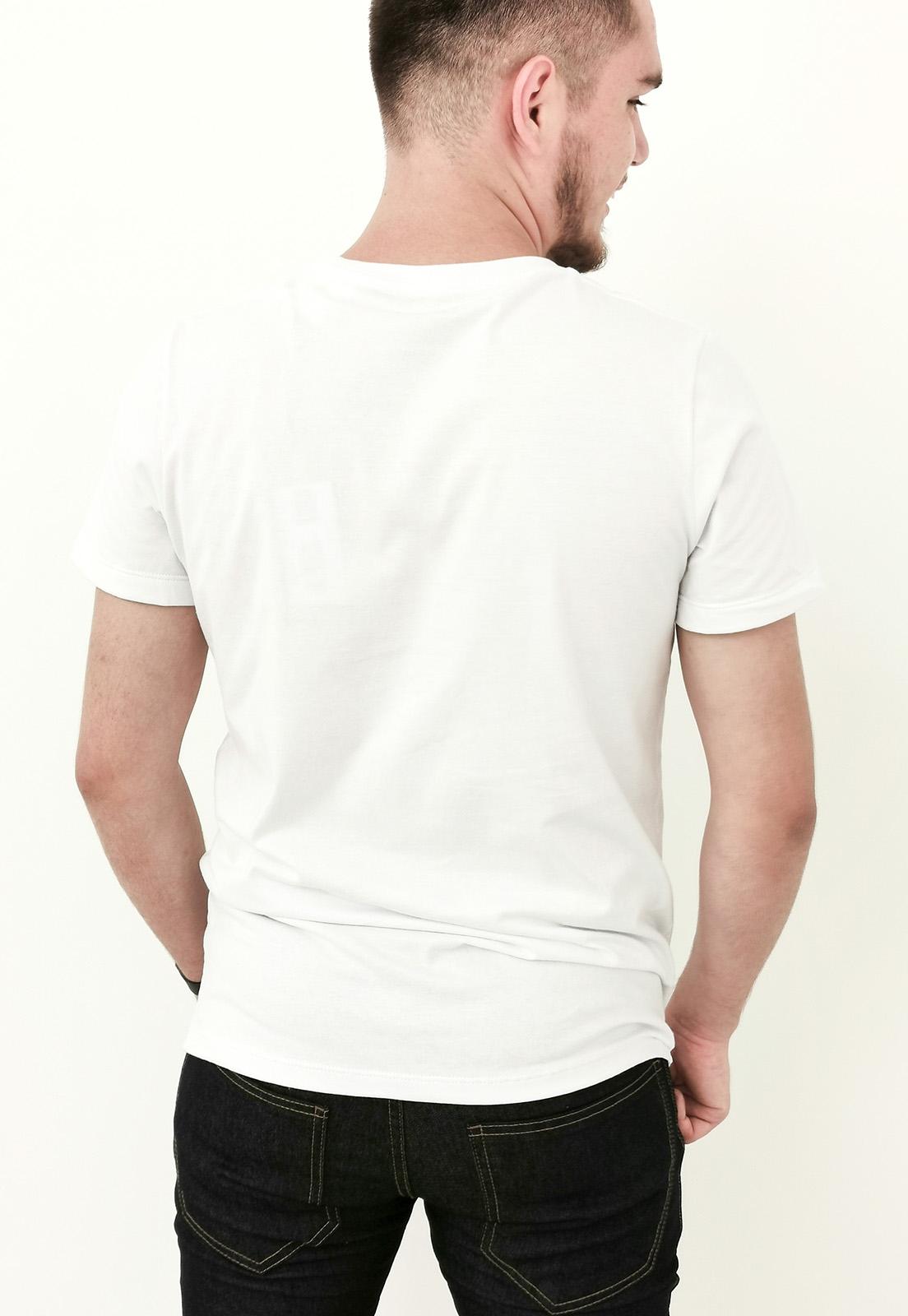 Camiseta Colcci Básica Branco com Bordado
