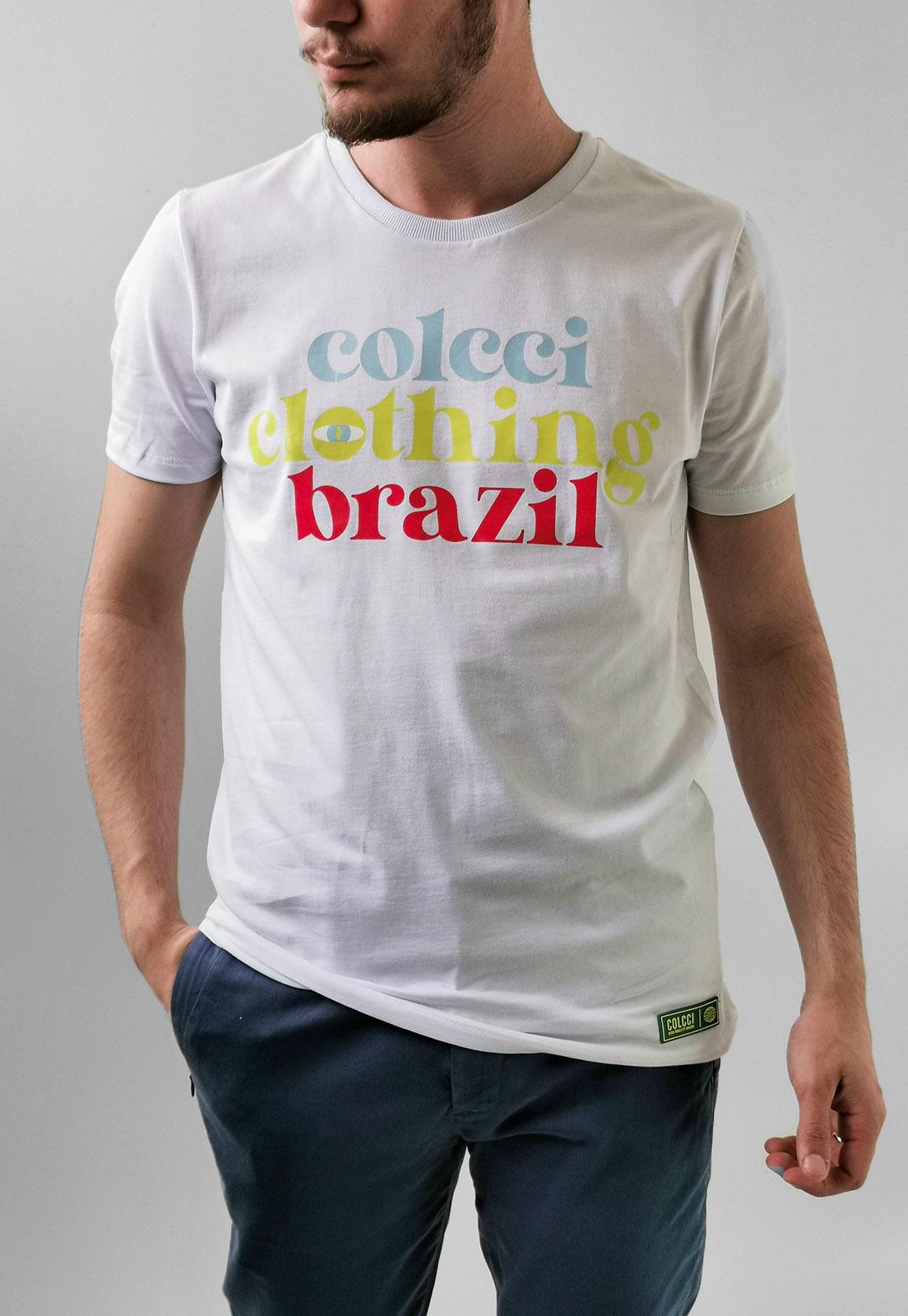 Camiseta Colcci Branco Clothing Brazil