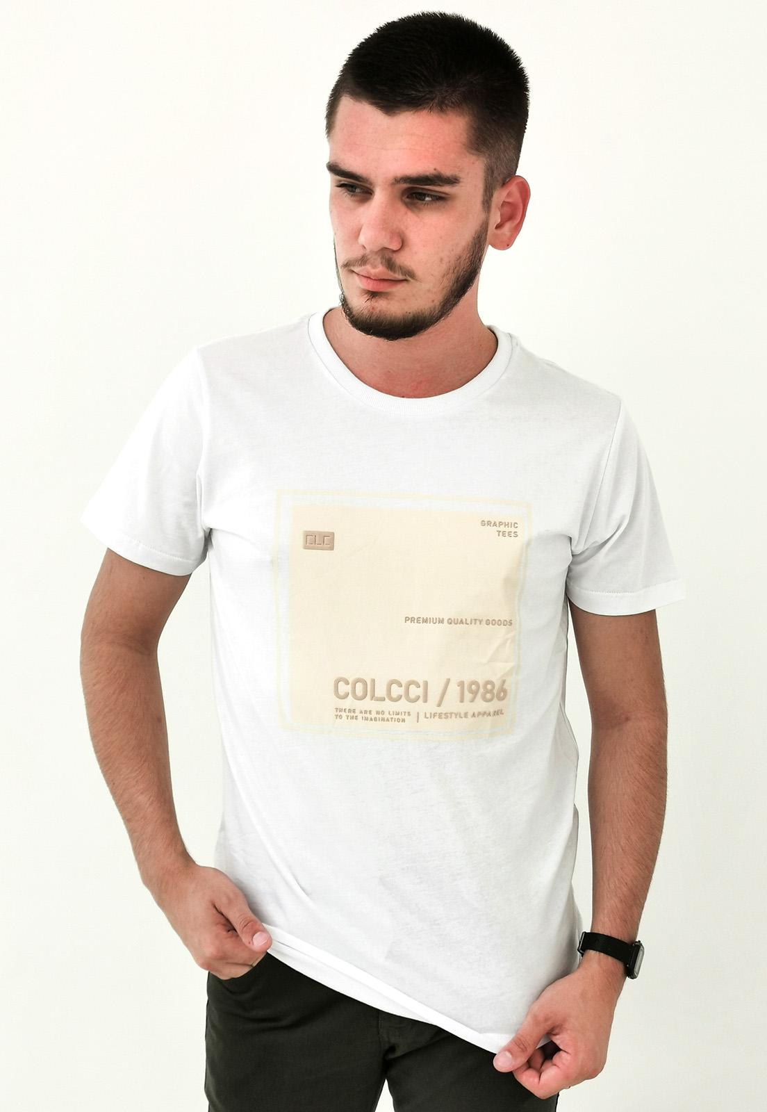 Camiseta Colcci Branco Graphic