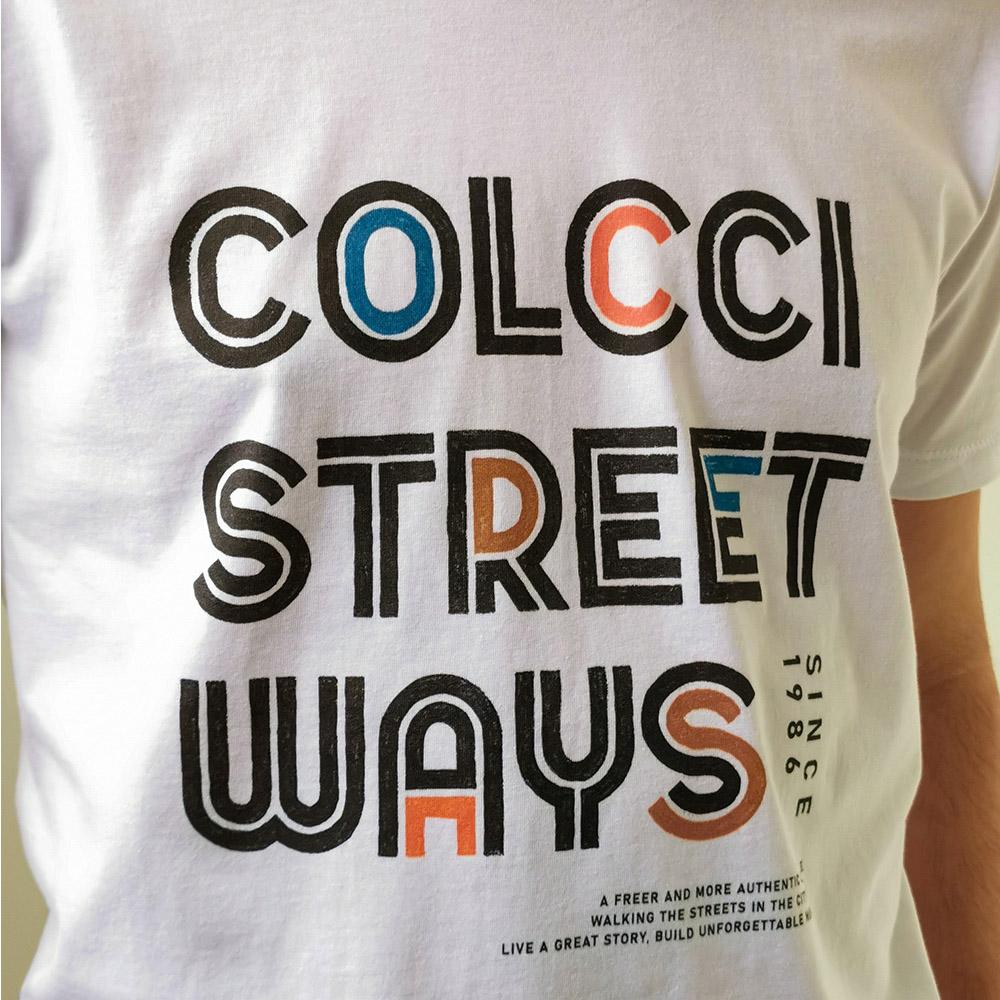 Camiseta Colcci Branco Street Ways