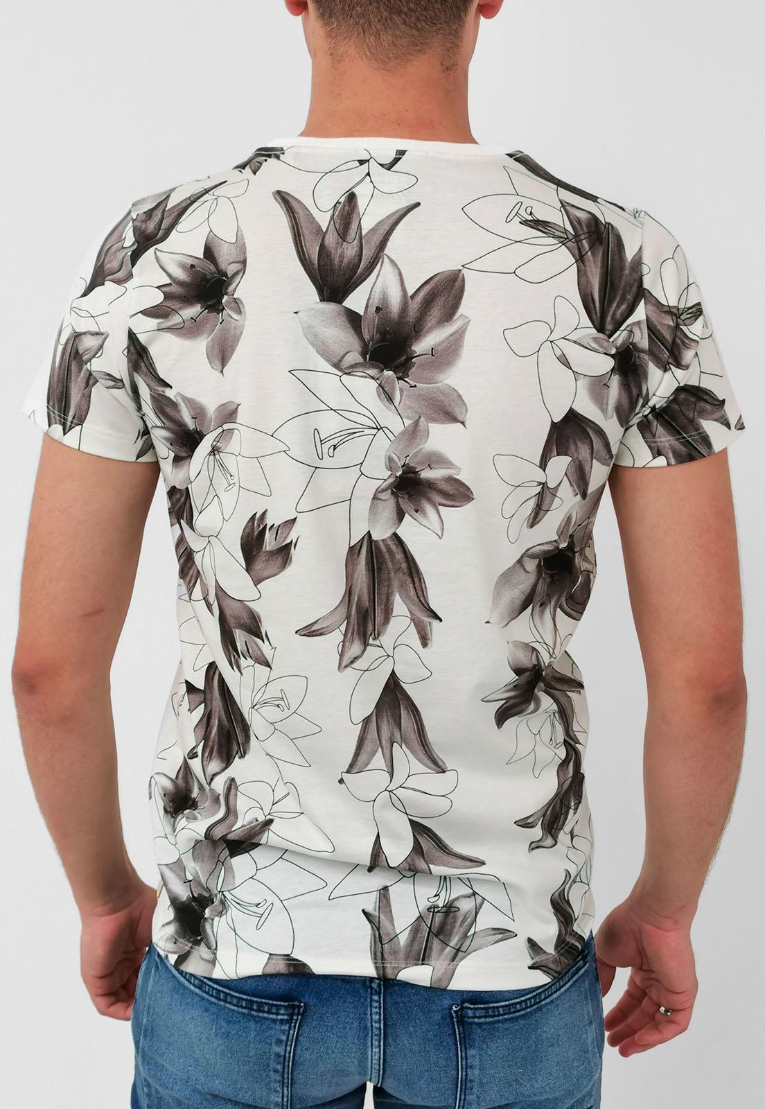Camiseta Colcci Of White Lirios