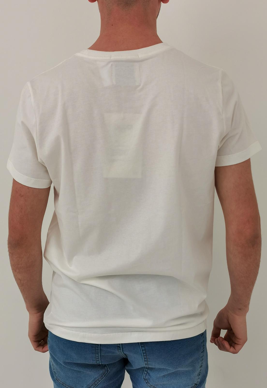 Camiseta Colcci Off White Something
