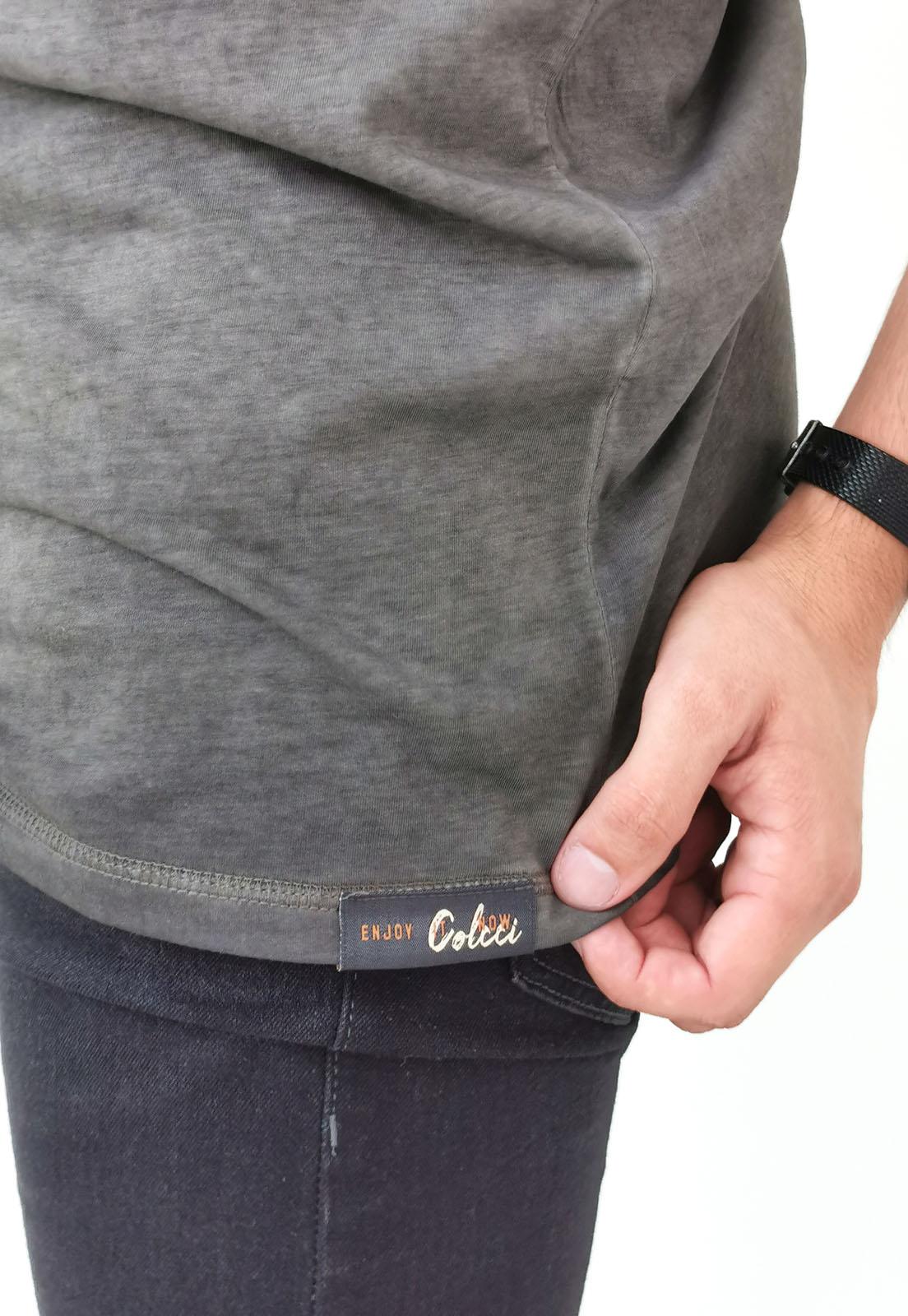 Camiseta Colcci Preto lavada