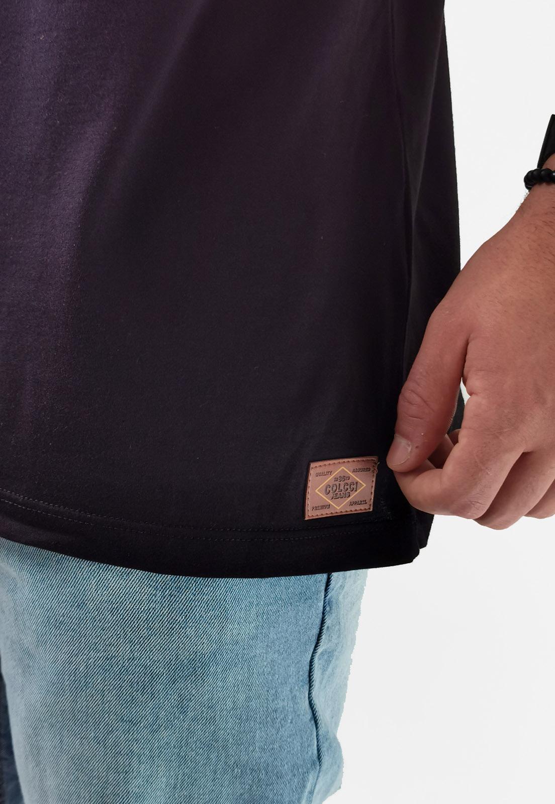 Camiseta Colcci Preto Lobo