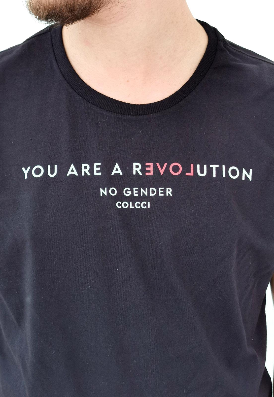 Camiseta Colcci Preto Revolution