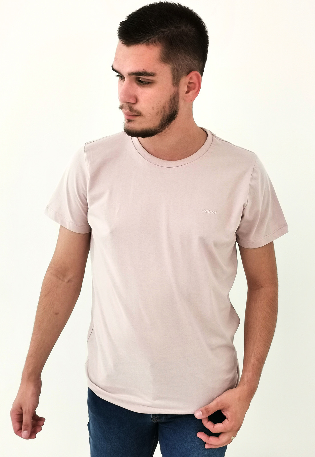 Camiseta Colcci Rosa Básica