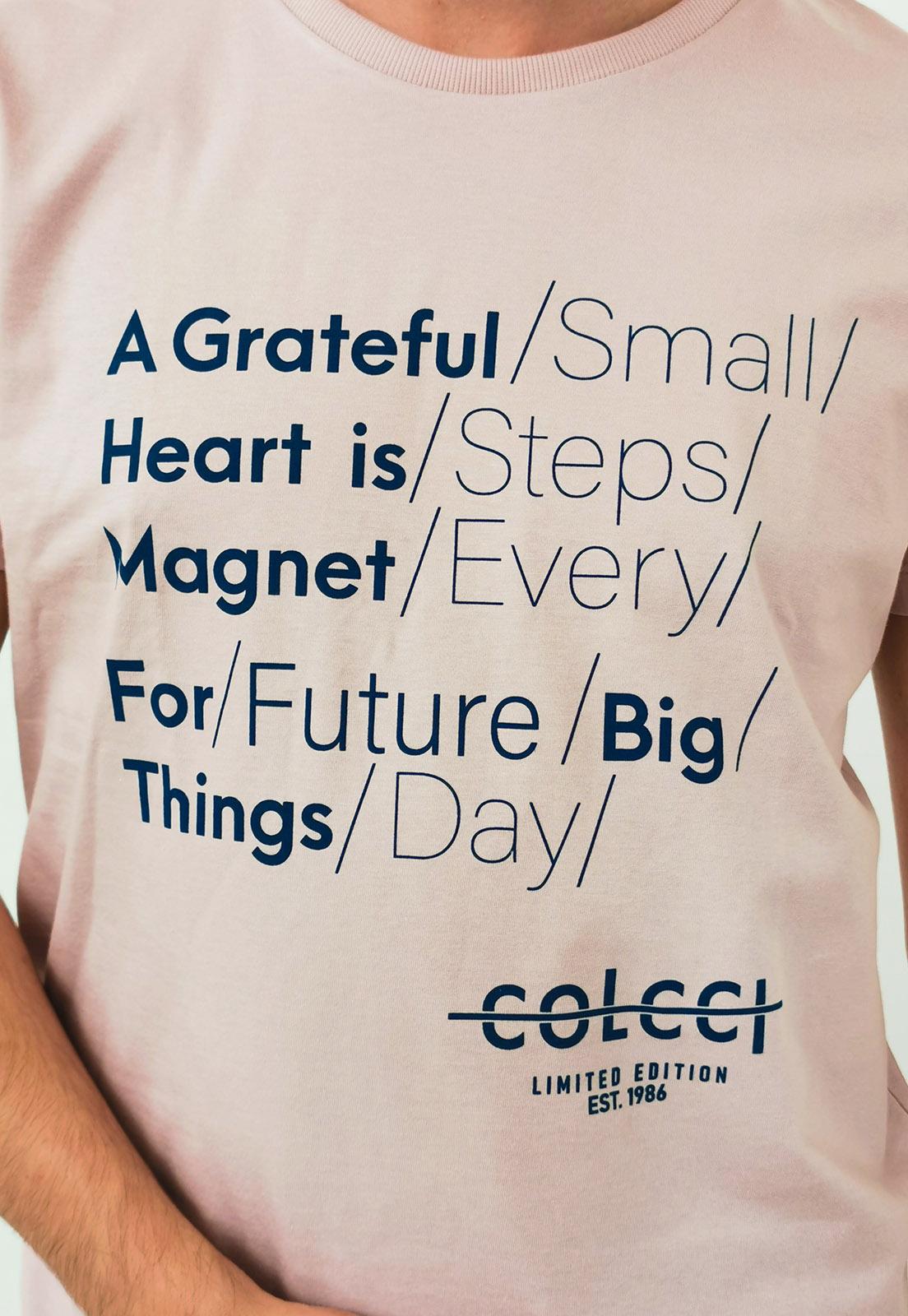 Camiseta Colcci Rosa Magnet