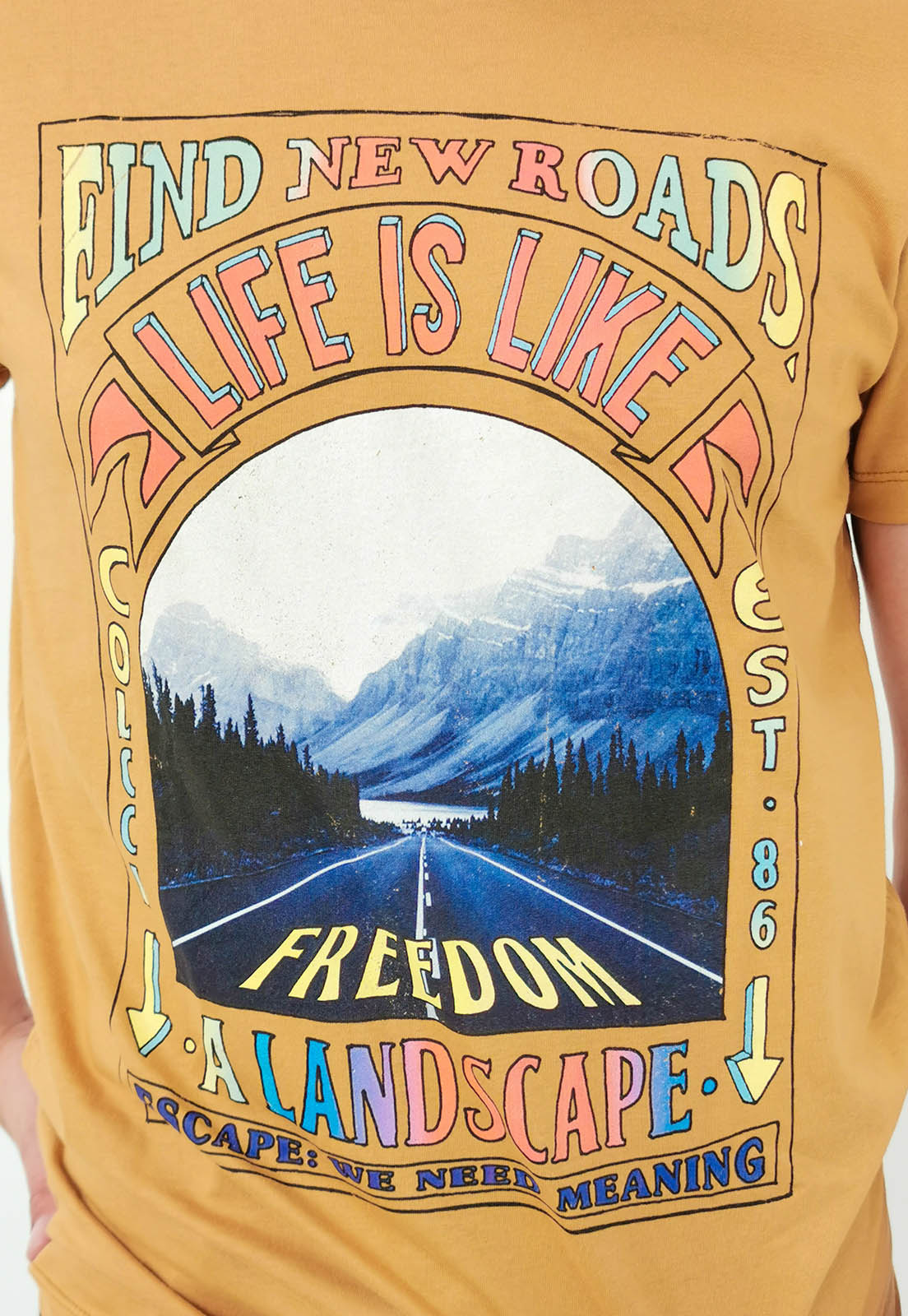 Camiseta Colcci Terra Life is Like
