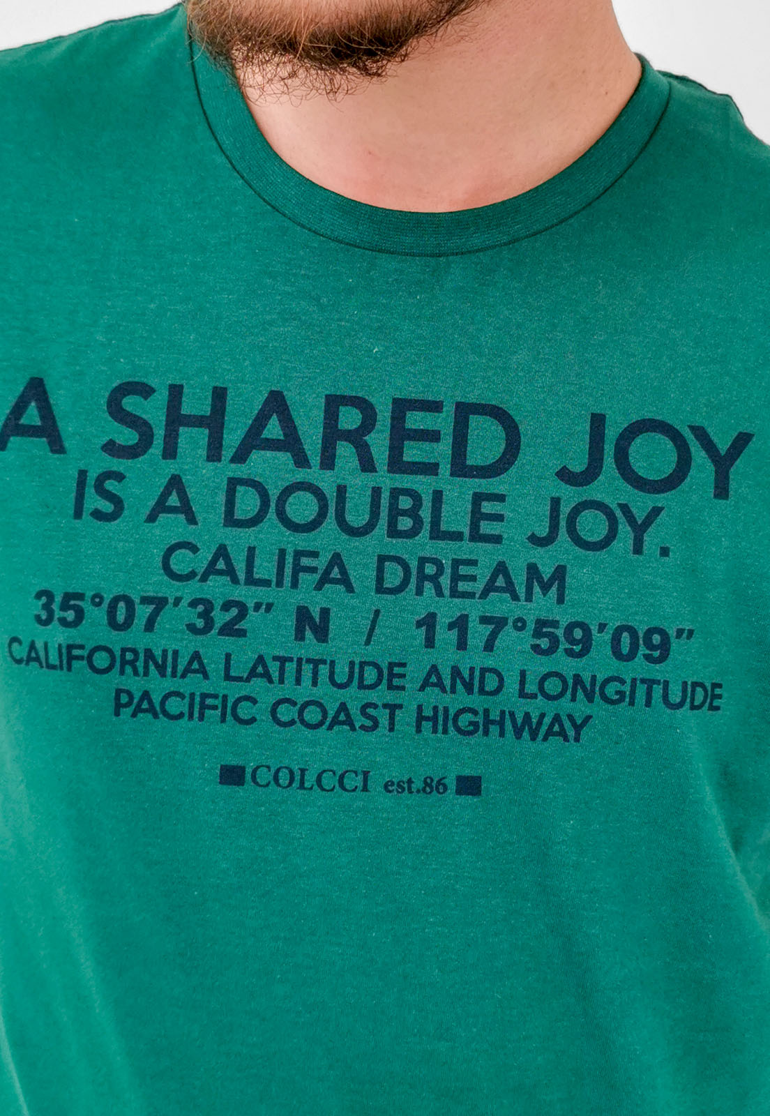 Camiseta Colcci Verde Joy