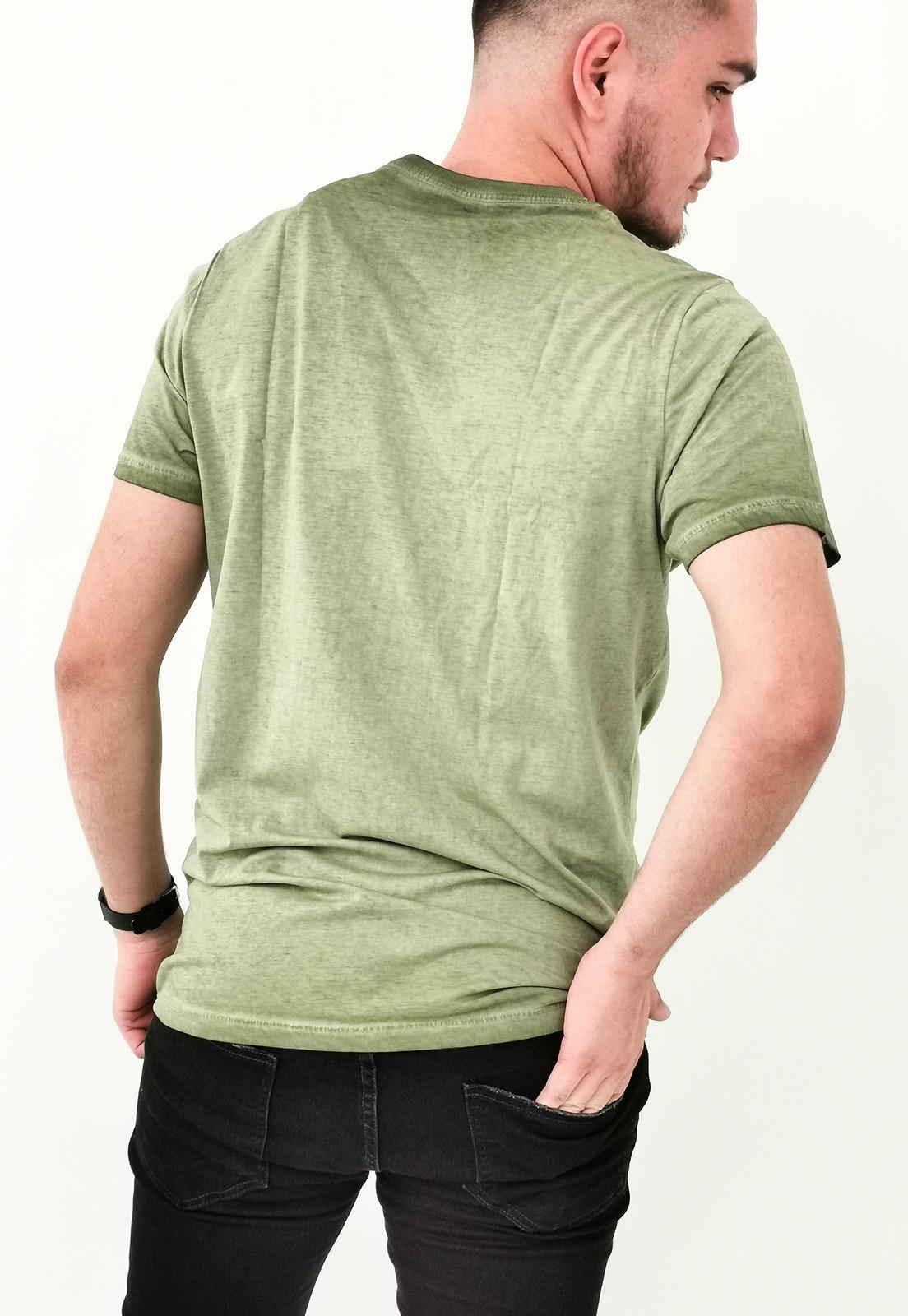Camiseta Colcci Verde Lavada