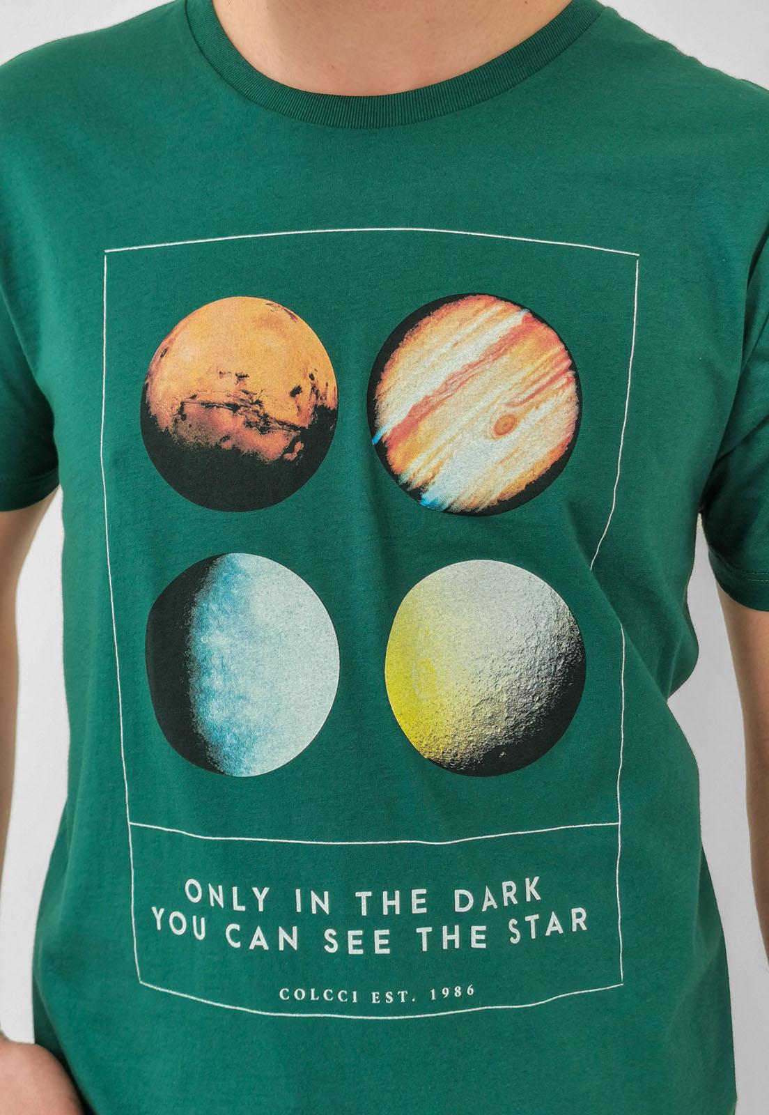 Camiseta Colcci Verde Star