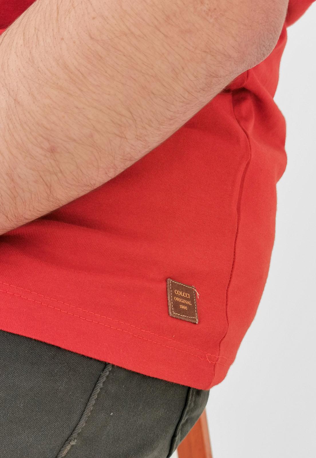 Camiseta Colcci Vermelho Bird