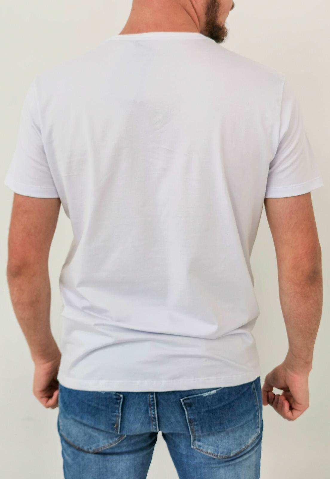 Camiseta Docthos Básica Branco Algodão Pima