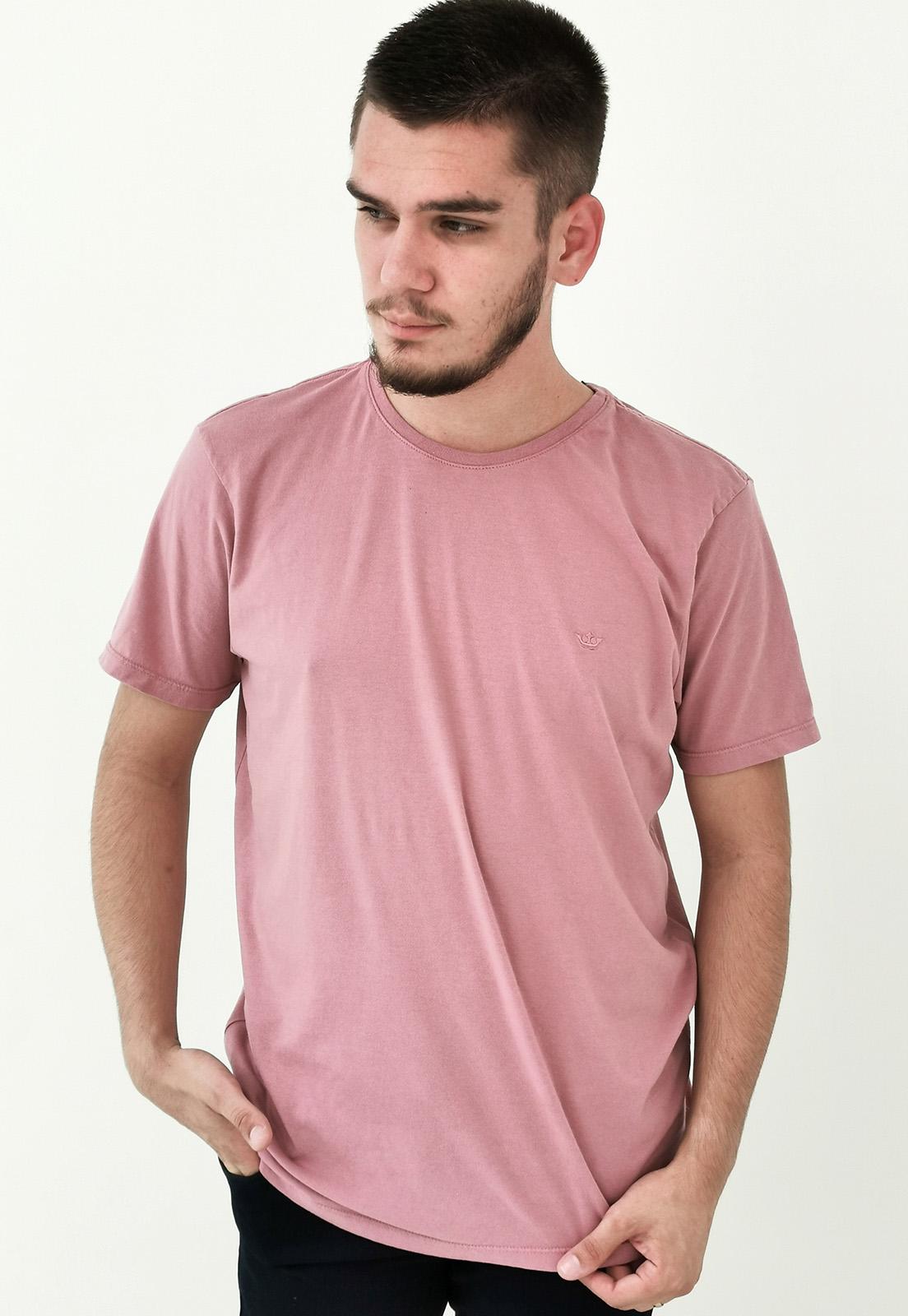 Camiseta Docthos Básica Rose