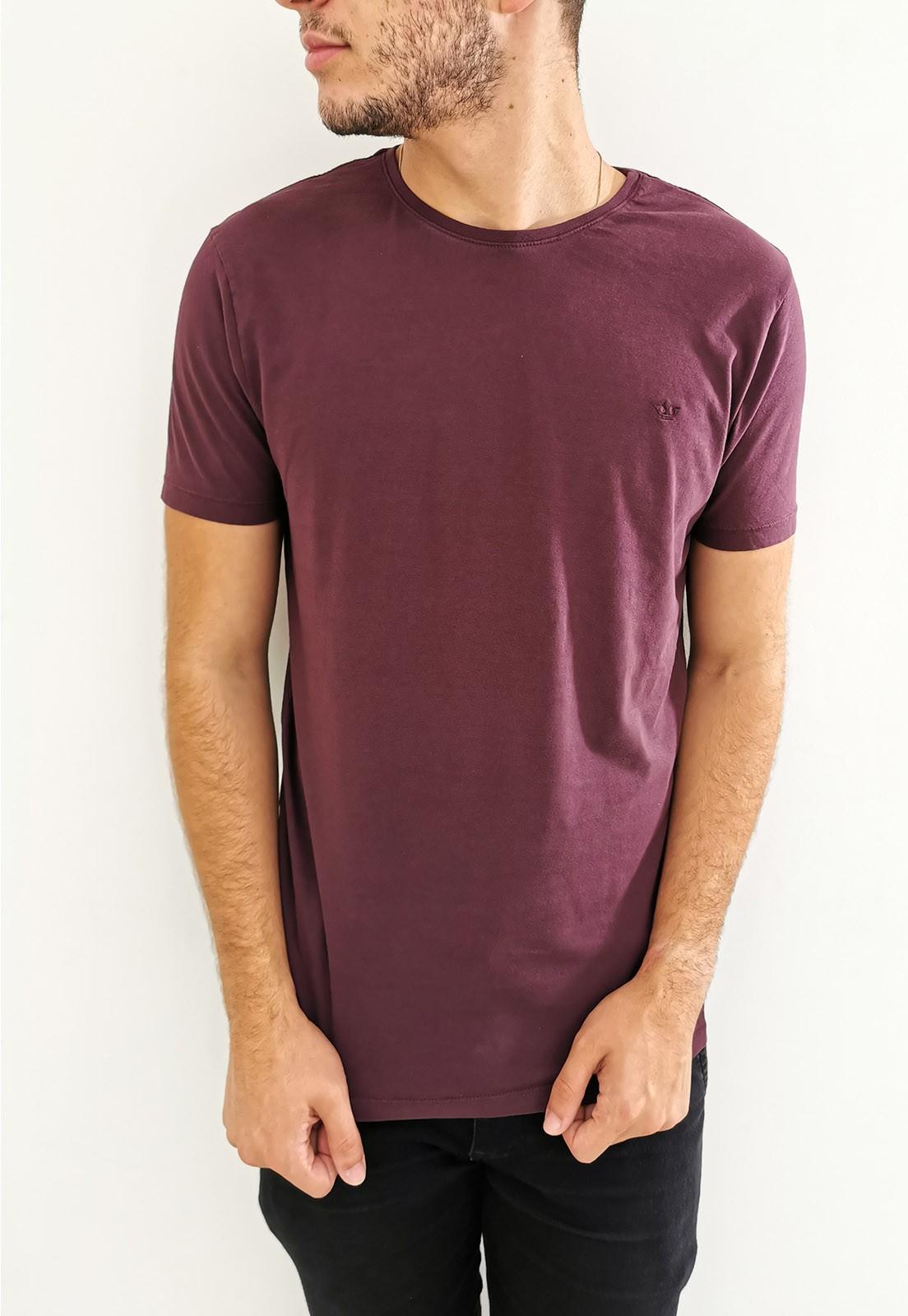 Camiseta Docthos Bordô
