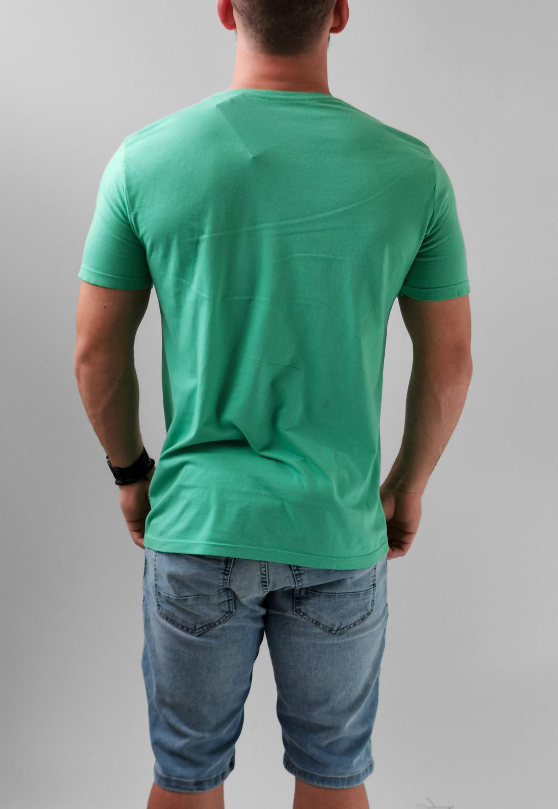 Camiseta Docthos Verde Logo Básica