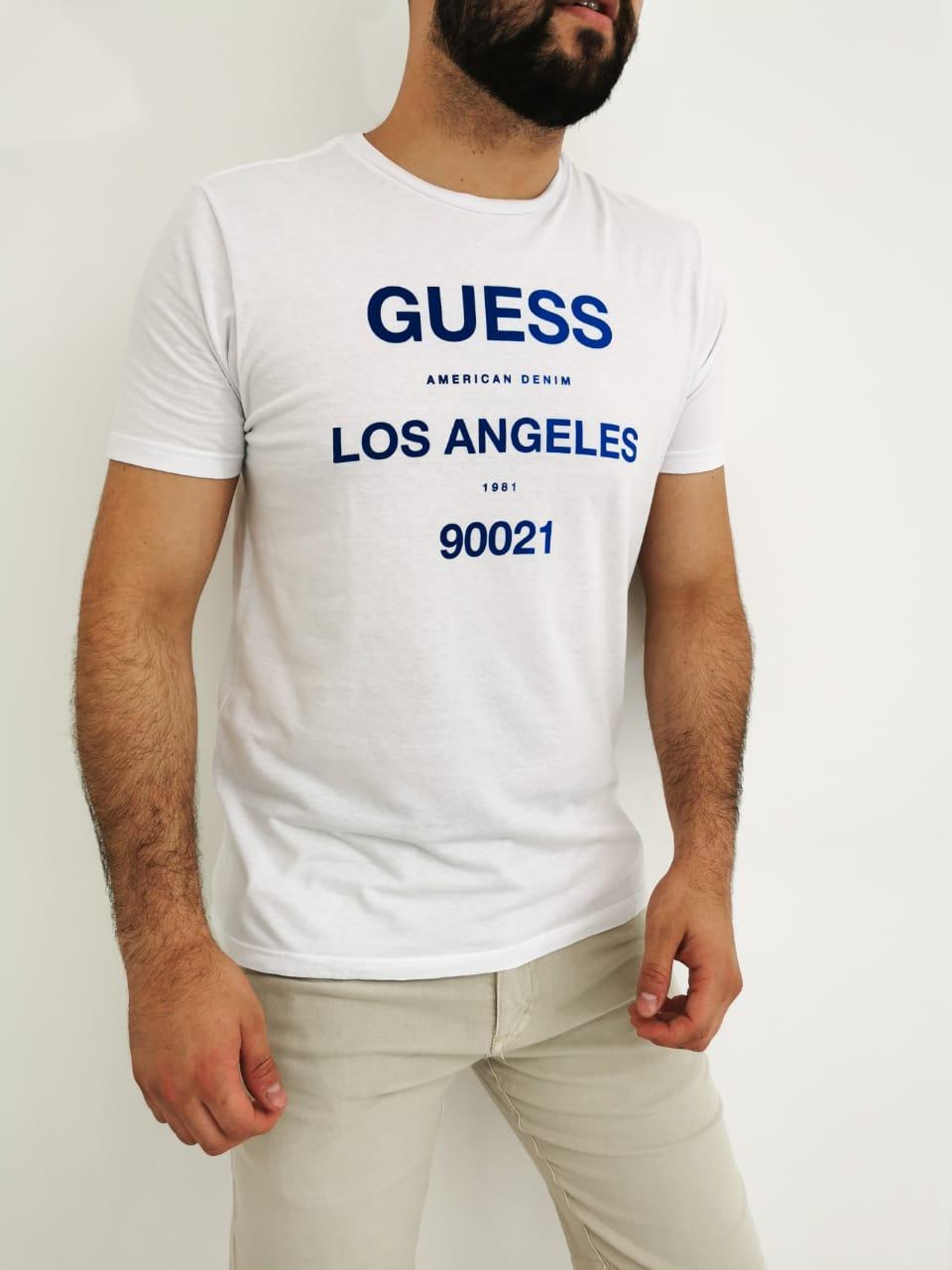 Camiseta Guess Branco