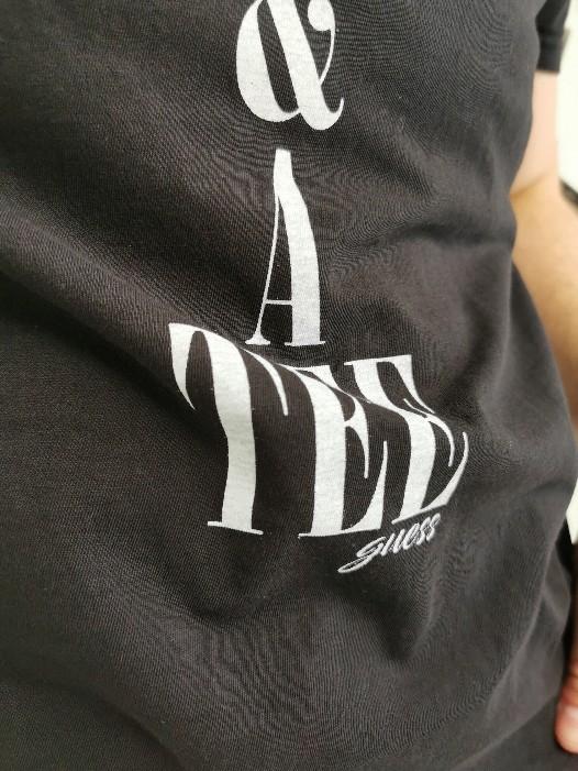 Camiseta Guess Preta