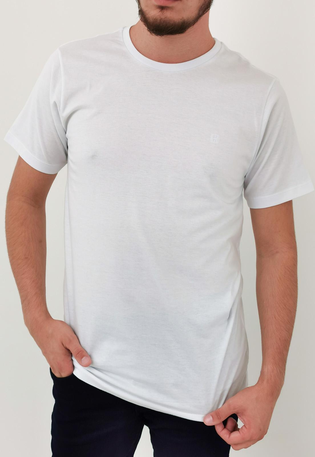 Camiseta Highstil Básica Branco