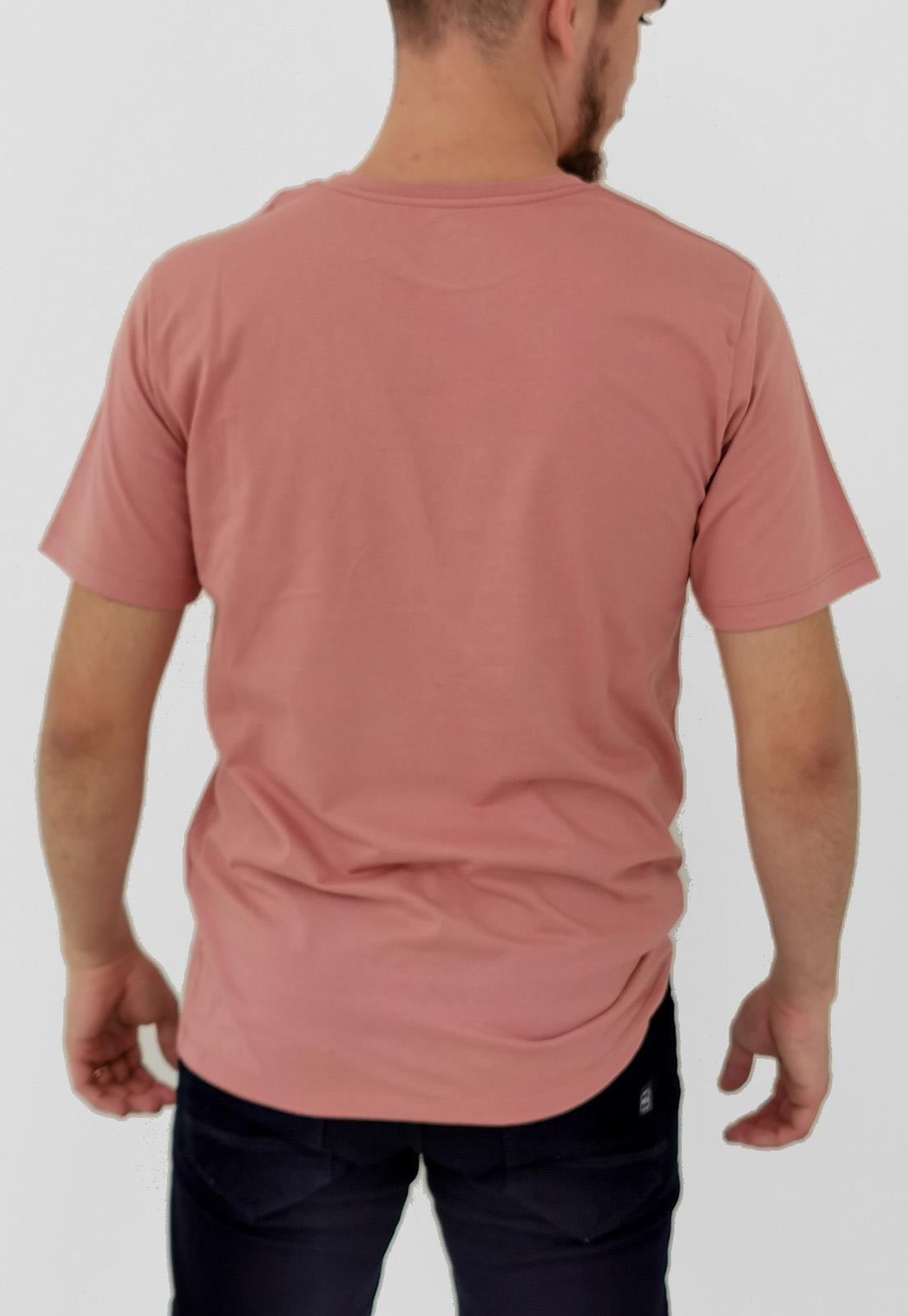Camiseta Highstil Básica Rosa