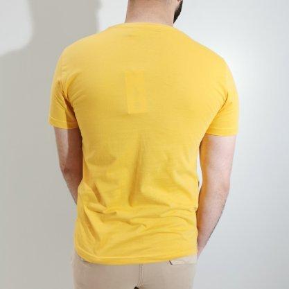 Camiseta Lee Amarela Estampada