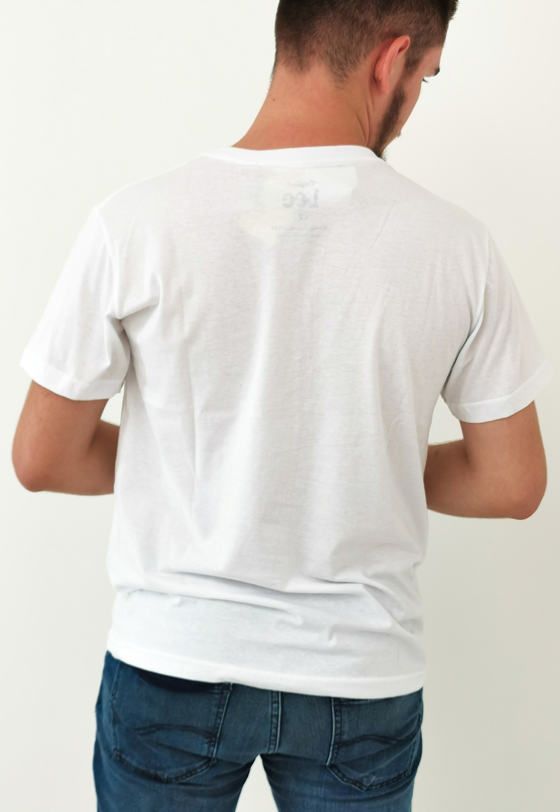 Camiseta Lee Branco