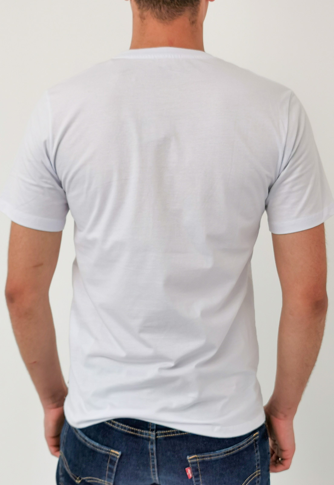 Camiseta Levi's Branco Logo