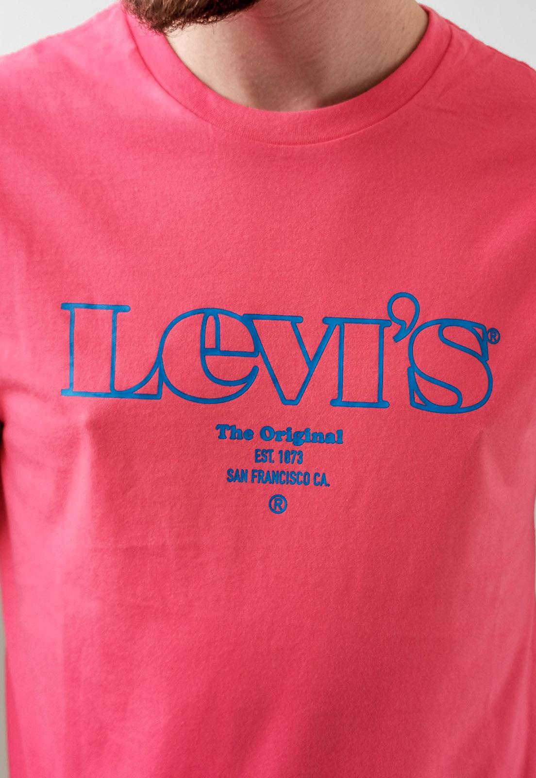 Camiseta Levi's Laranja San Francisco