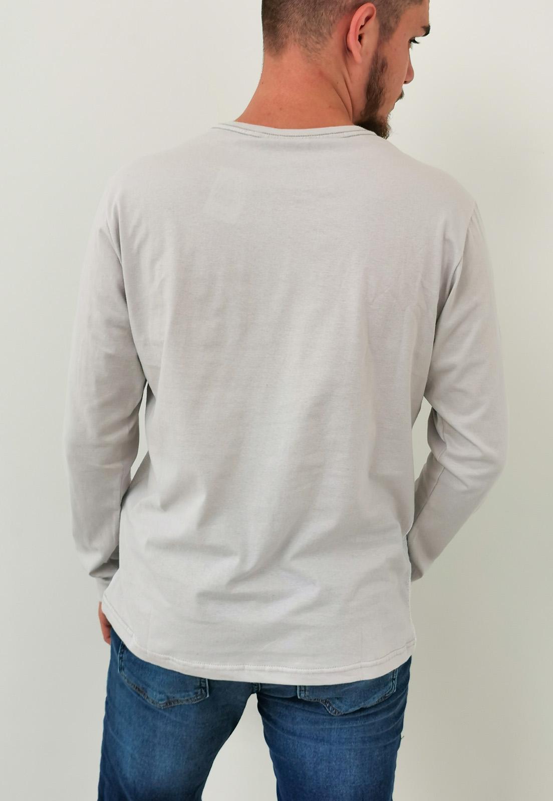 Camiseta Manga Longa Dixie Branco