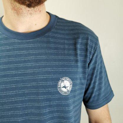 Camiseta Nicoboco Azul Listrada
